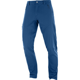 Salomon Wayfarer Tapered Pants Men blue